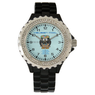 Receta hawaiana de la bebida fresca relojes de pulsera
