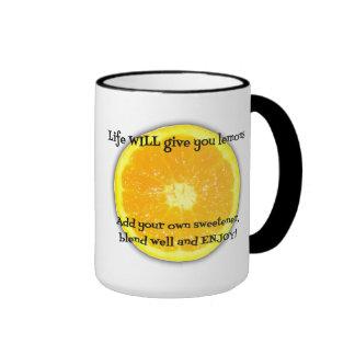 Receta para la taza de la felicidad