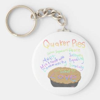 Receta para las empanadas del Quaker Llaveros Personalizados