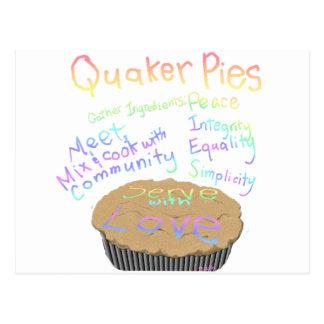 Receta para las empanadas del Quaker Tarjetas Postales