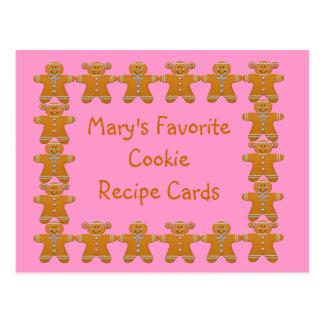 Receta preferida Cards~Gingerbread~Customize de la Tarjeta Postal