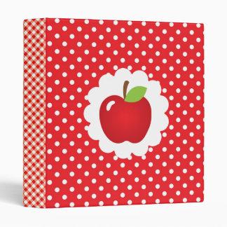 """Receta roja de Apple Carpeta 1"""""""