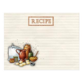 recetas de antaño postales