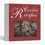 Recetas de la galleta rojas