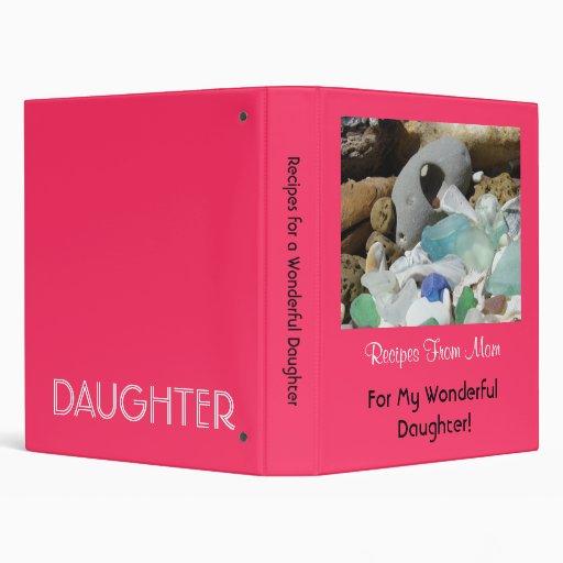 Recetas de la hija maravillosa de las carpetas de