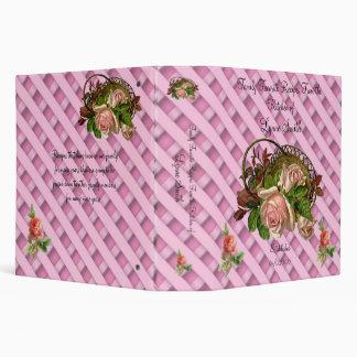Recetas del favorito de la familia -- Diseño rosad