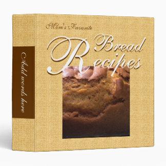 Recetas del pan (oro texturizado)