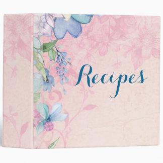"""Recetas florales rosadas y azules bonitas carpeta 2"""""""