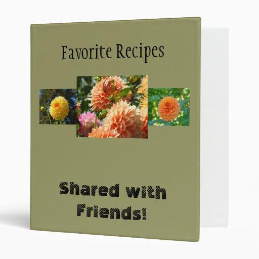 ¡Recetas preferidas compartidas con los amigos! Da
