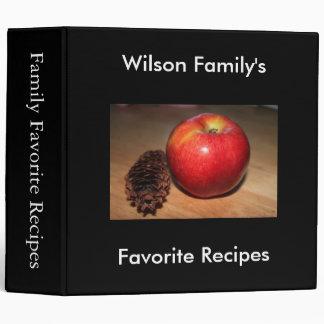 Recetas preferidas manzana cono de abeto
