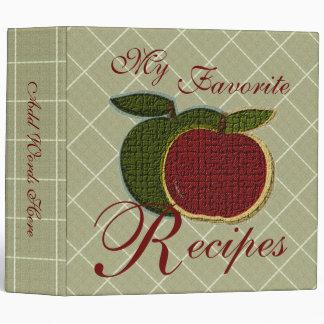 "Recetas preferidas (manzanas texturizadas) carpeta 2"""