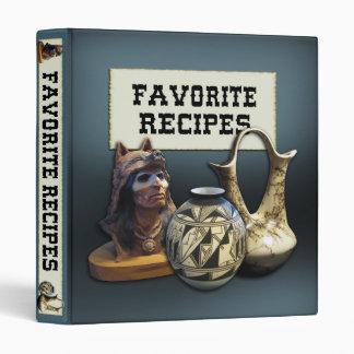 """Recetas preferidas - tema del nativo americano carpeta 1"""""""