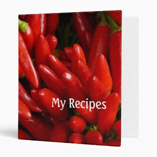 recetas rojas calientes de los chiles