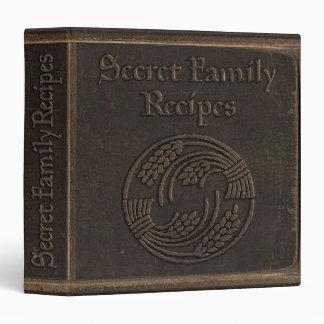Recetas secretas antiguas de la familia