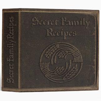 Recetas secretas de la familia