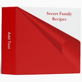 Recetas secretas de la familia rojas y blancas
