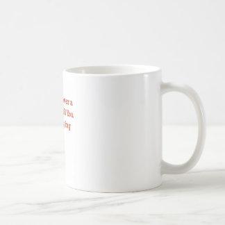 Rechace perder taza de café