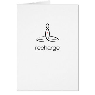 Recharge - Black Regular style Cards