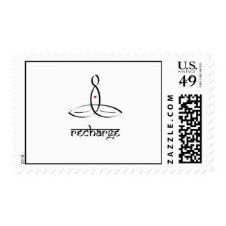 Recharge - Black Sanskrit style Stamps