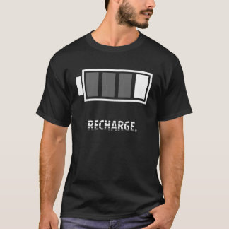 Recharge (Black) T-Shirt