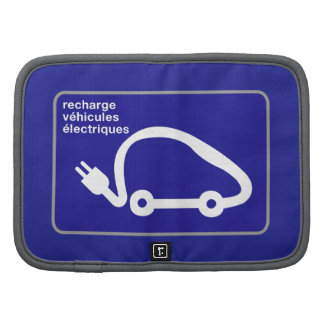 Recharge Stn Electric Cars, Traffic Sign, France Planners