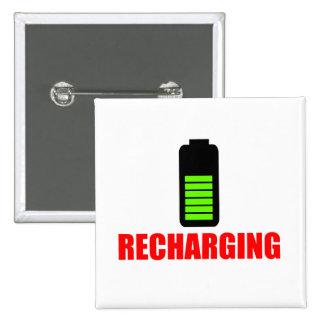 Recharging Battery Button