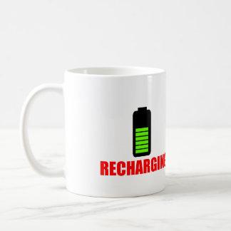 Recharging Battery Mug