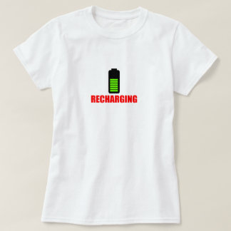 Recharging Battery T-shirt