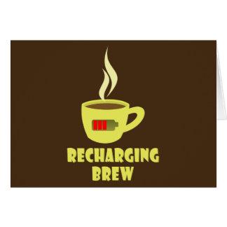 Recharging Brew Card