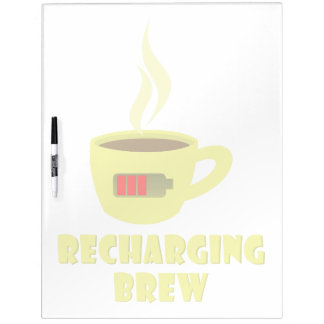 Recharging Brew Dry-Erase Whiteboards