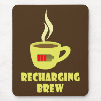 Recharging Brew Mouse Pad