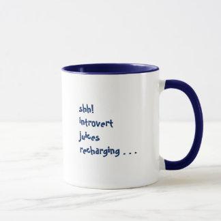 Recharging! mug