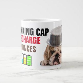 Recharging the Thinking Cap Jumbo Coffee Mug