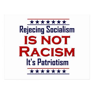Rechazando socialismo, postal