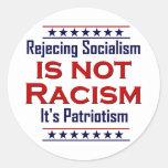 Rechazo de socialismo, etiquetas