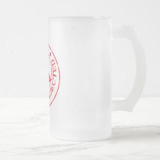 Rechazo del control de calidad taza de cristal