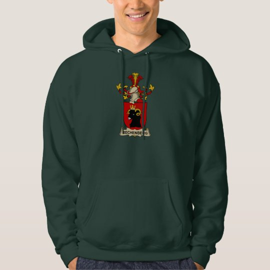Rechenberg Family Crest Hoodie