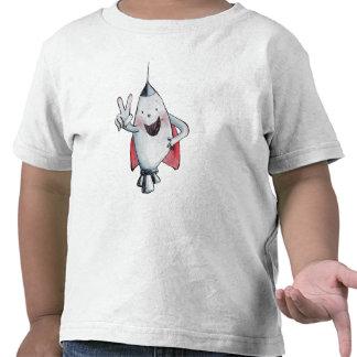 Rechoncha es la camiseta de dos niños