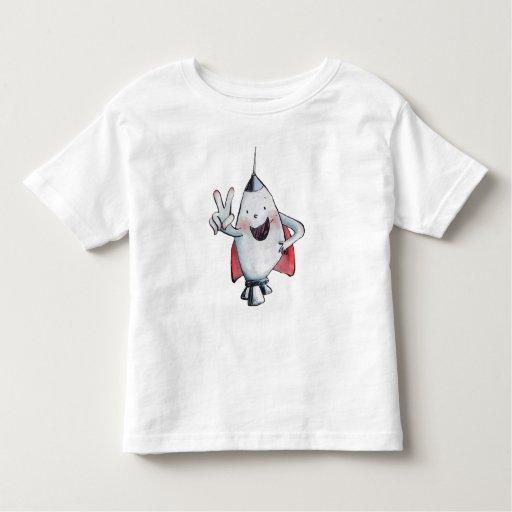 Rechoncha es la camiseta de dos niños playeras