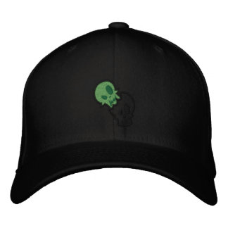 Rechoncho mi casquillo de los zombis de Lil Gorros Bordados
