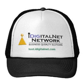 Recibimiento del negocio de IDigitalNet del patroc Gorro De Camionero