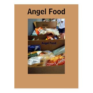 Recibimos la comida del ángel postal