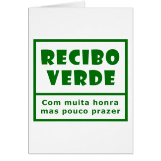 Recibos Verdes Card
