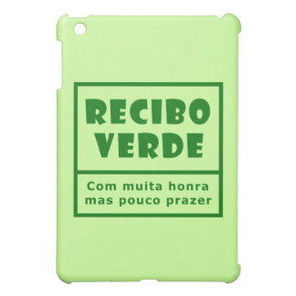Recibos Verdes iPad Mini Covers
