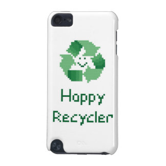 Reciclador feliz funda para iPod touch 5G
