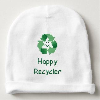 Reciclador feliz gorrito para bebe