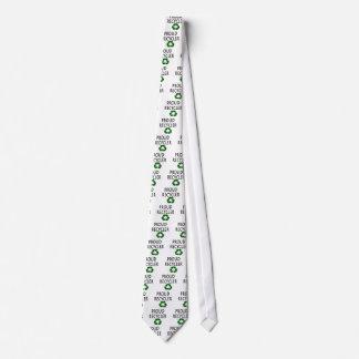 Reciclador orgulloso corbata