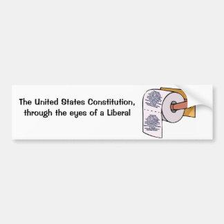 Reciclaje de Constitutionall Pegatina Para Auto