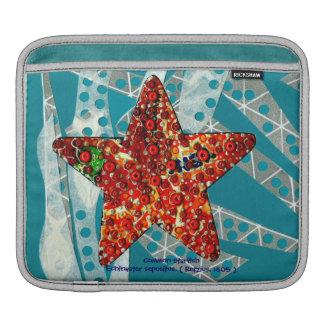Reciclaje de estrellas de mar funda para iPads