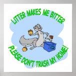 reciclaje de la ardilla posters